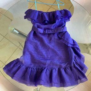 Silk Marciano dress Sz. M 100% Silk